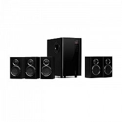 Auna Areal Touch, 5.1 reproduktorový systém, 200 W max., OneSide subwoofer, BT, USB, SD