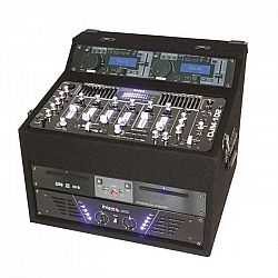 DJ station Ibiza DJ1000MKII, CD, MP3, USB, SD, AUX